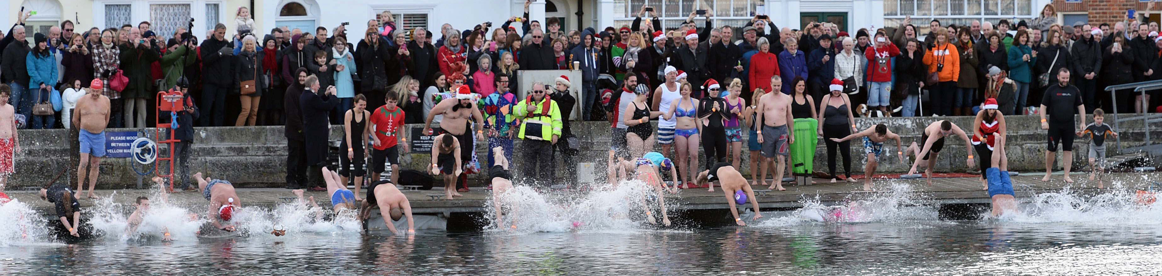 Annual Christmas Day Harbour Swim   Who are you going to raise funds for?