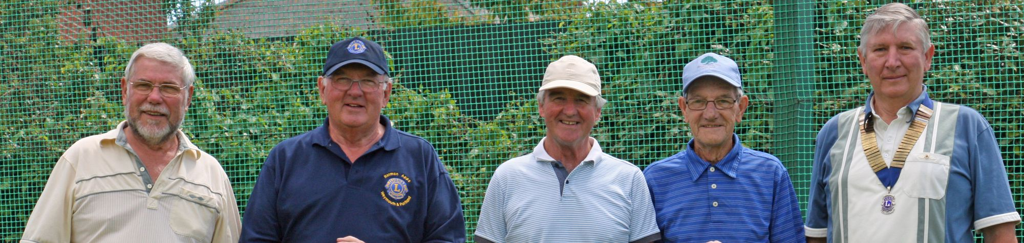 Lions Club Charity Golf Day Raises £1,800