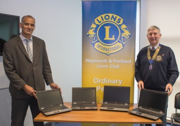 FOUR MORE LAPTOPS DONATED